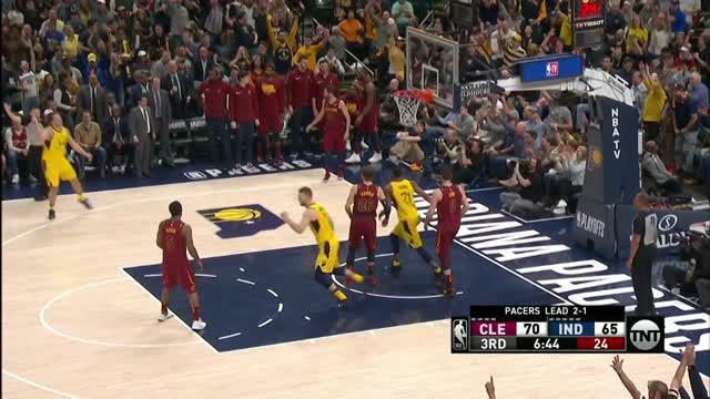 VIDEO : Cuplikan Pertandingan Playoffs NBA, Cavaliers 104 vs Pacers 100