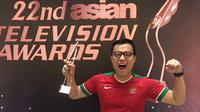 Pangeran Siahaan raih penghargaan di Asian TV Awards 2017