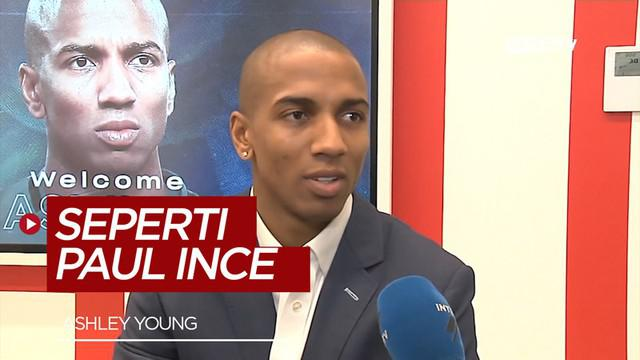 Berita video pemain baru Inter Milan, Ashley Young, ingin mengikuti jejak kesuksesan Paul Ince di Inter Milan.