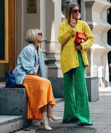 Fashionista at Stockholm Fashion Week - Photo: stylestalker