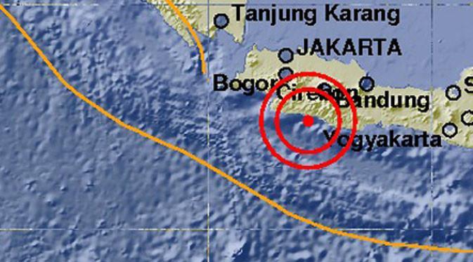 Ilustrasi gempa garut. (Liputan6.com/Muhamad Ali)