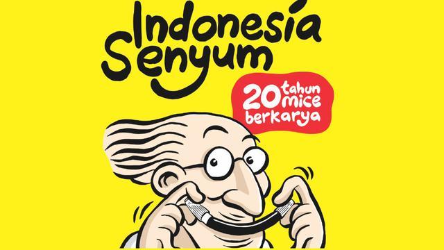 Kartunis Muhammad Mirsyad Atau Yang Terkenal Dengan Mice Akan Menggelar Pameran Tunggal Bertajuk Indonesia Senyum  Tahun Mice Berkarya