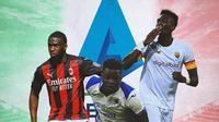 Serie A - Fikayo Tomori, Ronaldo Vieira, Tammy Abraham (Bola.com/Adreanus Titus)
