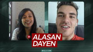 """Berita video potongan wawancara dalam rubrik """"Lebih Dekat"""" Dayen Gentenaar, soal alasannya ingin main untuk Timnas Indonesia dan mencoba berkarier di Liga 1."""
