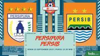 Shopee Liga 1 - Persipura Jayapura Vs Persib Bandung (Bola.com/Adreanus Titus)