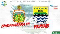 Liga 1 2018 Bhayangkara FC Vs Persib Bandung (Bola.com/Adreanus Titus)