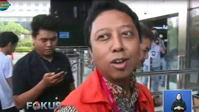 Sebelum memasuki Gedung KPK, Romi menyatakan akan bersikap kooperatif dalam pemeriksaan.