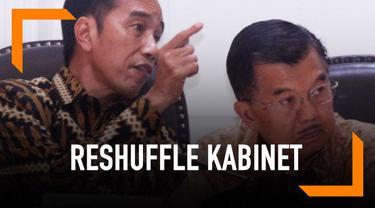 Wacana reshuffle ini menguat setelah sejumlah menteri Kabinet Kerja terseret kasus korupsi di KPK. Setidaknya ada tiga menteri dari parpol yang saat ini berkaitan dengan proses hukum yang sedang berlangsung di KPK.