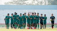 Latihan perdana Persebaya Surabaya jelang bergulirnya Shopee Liga 1 2020, Senin (31/8/2020). (Dok Persebaya)