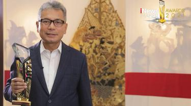 Dirut BRI Sunarso Dinobatkan Sebagai The Best CEO di Ajang iNews Maker Awards 2021