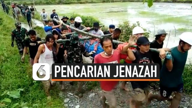 THUMBNAIL PENCARIAN JENAZAH BANJIR BANDANG LUWU UTARA