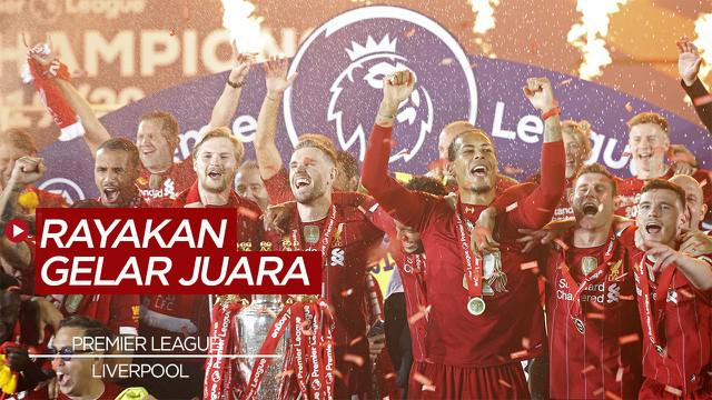 Berita Video Kalahkan Chelsea, Liverpool dan Fans Rayakan Gelar Juara Premier League di Anfield