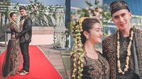 Potret Verrell dan Ranty Maria Pakai Baju Pengantin Adat Jawa. (Sumber: Instagram.com/ bramastavrl)