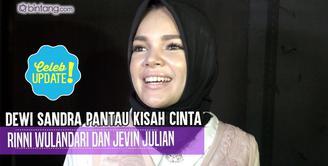 Dewi Sandra merasakan kontak batin dengan Rinni Wulandari.