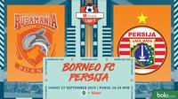 Shopee Liga 1 - Borneo FC Vs Persija Jakarta (Bola.com/Adreanus Titus)