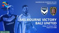 Melbourne Victory Vs Bali United