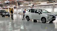 Spyshot Mitsubishi Xpander facelift (Facebook.com/ Tekan Minyak)