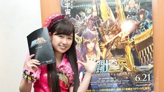 Film 3D Saint Seiya Libatkan Member Idol Group Sebagai