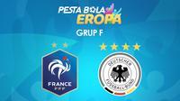 Pertandingan Grup F Euro 2020 (2021): Prancis vs Jerman. (Bola.com/Dody Iryawan)