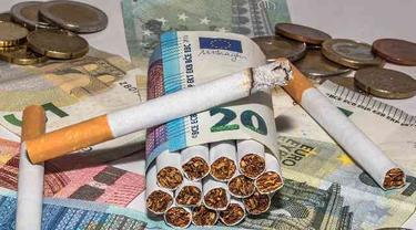 Pol PP Garut Temukan Rokok dengan Cukai Palsu Beredar di Warung