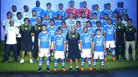 Persib memperkenalkan skuat untuk memperkuat tim di Liga 1 (Liputan6.com/Kukuh Saokani)