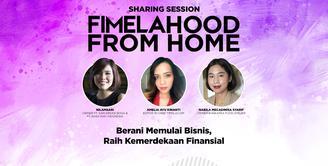 Seperti apa keseruan Fimelahood From Home yang membahas kemerdekaan finansial? Yuk, kita cek video di atas!