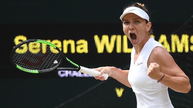 Kalahkan Serena Williams, Simona Halep Juarai Wimbledon 2019 - Ragam Bola.com