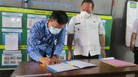 Kepala BBPLK Serang, Agung Nur Rohmad berharap APD yang diberikannya dapat membantu percepatan penanganan dan pencegahan penyebaran Covid-19 di Kota Cilegon.
