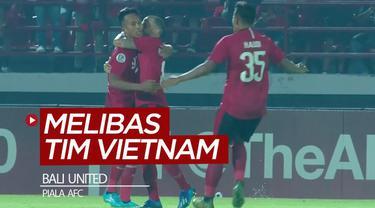 Berita video gol-gol yang tercipta saat Bali United menang 4-1 atas tim Vietnam, Than Quang Ninh, pada laga perdana mereka di Grup G Piala AFC 2020, Selasa (11/2/2020).