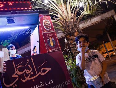 Ramadan, Begini Kesibukan Pedagang di Bahrain