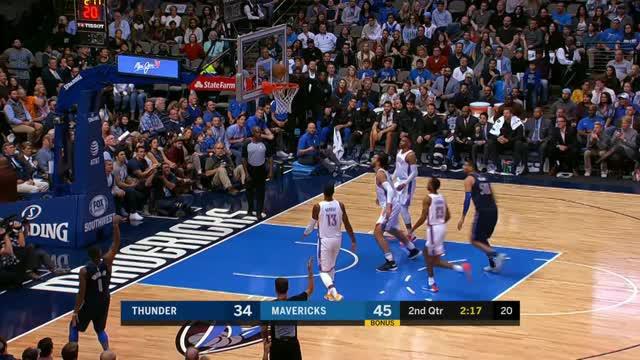 Dallas Mavericks berhasil kalahkan Oklahoma City Thunder dengan skor 97-81.