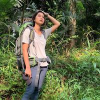 Prisia Nasution di alam bebas (Instagram/prisia)