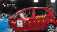 Fitur Keselamatan Kia Picanto mendapat rating keselamatan maksimal lima bintang oleh Australasian NCAP.