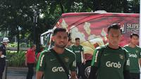 Saddil Ramdani bergabung dengan Timnas Indonesia U-23, Senin (11/3/2019). (Bola.com/Benediktus Gerendo Pradigdo)