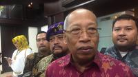 I Wayan Sudirta, perwakilan FAPP, sebut ada 4 alternatif soal Perppu Ormas, Jumat (14/7/2017)/ (Liputan6.com/Muhammad Radityo Pryasmoro)