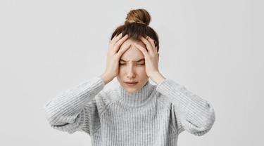 Gambar Ilustrasi Seseorang Mengalami Stres