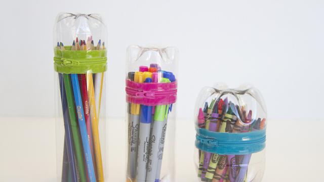 Cara Membuat Tempat Pensil Dari Botol Bekas Yang Mudah