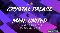 Premier League - Crystal Palace Vs Manchester United (Bola.com/Adreanus Titus)