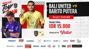 Link Live Streaming Bali United Tour de Java Eksklusif di Vidio, Jumat 18 Juni 2021