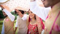 Ilustrasi pernikahan India (Dok.Unsplash)