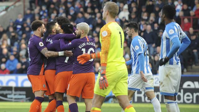 Manchester City Menang di Kandang Huddersfield