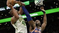 Al Horford memimpin Celtics mengalahkan Knicks pada laga NBA (AP)
