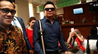Jerry Aurum di Pengadilan Agama Jakarta Selatan [Foto: Faisal R. Syam/Liputan6.com]