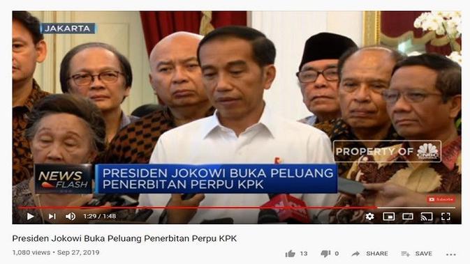 Gambar Tangkapan Layar Video dari Channel YouTube CNBC Indonesia