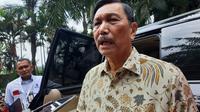 Menteri Koordinator Bidang Kemaritiman dan Investasi Luhut Pandjaitan.
