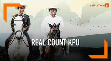 KPU terus melakukan real count untuk Pemilu 2019. Berikut hasil sementara Pilpres 2019 di hari pertama Ramadan 1440H.