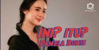 Hari ini ada tantangan ini atau itu untuk Pamela Bowie, dimana Pamela harus memilih 1 dari 2 pertanyaan yang diajukan.