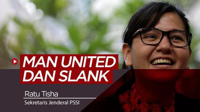 Berita video wawancara bersama Sekretaris Jenderal PSSI, Ratu Tisha Destria soal Manchester United dan Slank.