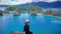 Sombori merupakan gugusan pulau perawan yang tak kalah eksotis dari Raja Ampat dan Kepulauan Mandeh. Foto: Andi Jatmiko/ Liputan6.com.