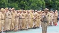 Jumlah tersebut sama berati 15 persen dari keseluruhan PNS Pemprov Papua tidak memiliki disiplin.